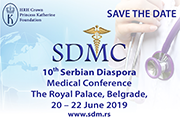 10th Serbian Diaspora Medical Conference 2019